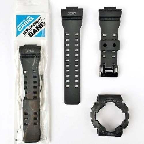 Pulseira +bezel Capa Casio G-shock Gd-100ms-1 100%original  - E-Presentes