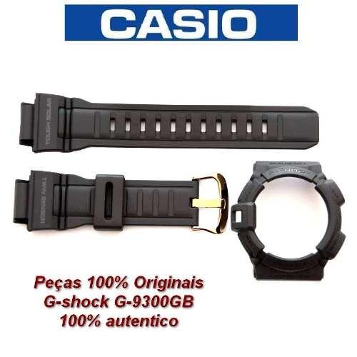 Bezel + Pulseira G-shock Mudman G-9300 Gb - Peças Originais  - Alexandre Venturini