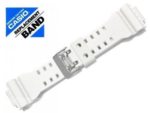 Pulseira Branca Brilhante Casio G-shock Gac-100rg-7   - Alexandre Venturini