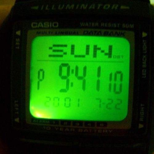 Db-36-1av Relógio Casio Databank Bateria 10anos Agenda  - E-Presentes