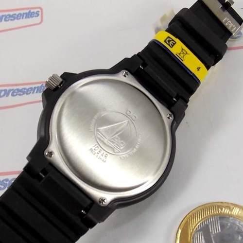 Relógio Q&Q Mariner Vr70j001y Prova Dágua 100m (maq.citizen)  - E-Presentes