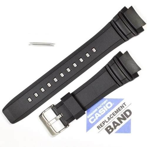 Pulseira Casio Marine Gear Preta - Amw-710 - 100% Original  - E-Presentes