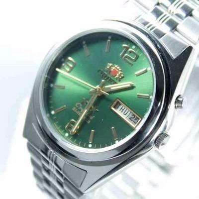 Relogio Automático Orient 21jewels Pulseira Aço Fem6q00ff9  - E-Presentes