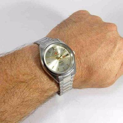 Relógio Orient Automático Masculino Fem0401rc9  - E-Presentes
