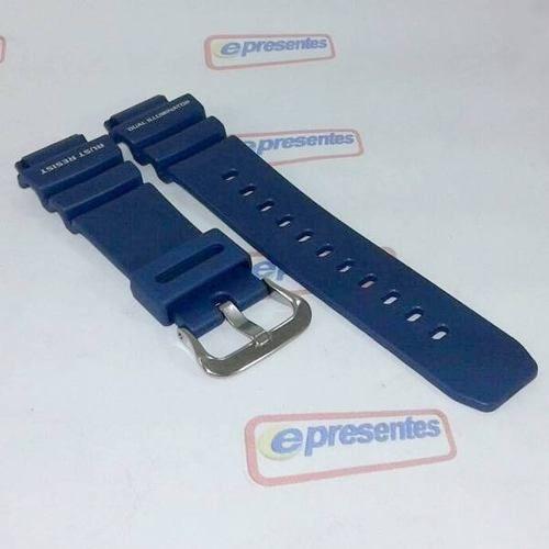 Pulseira Casio G-shock Azul Original G-9100 Aw-570 Aw-571  - E-Presentes