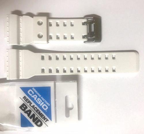 Pulseira Casio G-shock Branco Fosco Ga-120a-7 Ga-300-7a *  - E-Presentes
