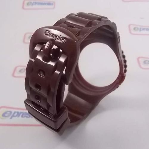 Pulseira Champion Avulsa Original Marrom Chocolate Pr30219p  - E-Presentes