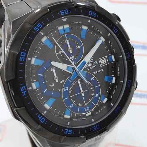 Efr-539bk-1a2v Relógio Casio Edifice Black IP  - 100% Original  - E-Presentes