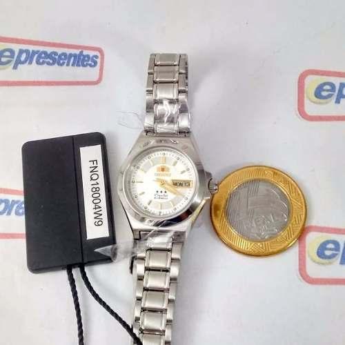 Relógio Orient Automatico Feminino Mini Autêntico Fnq18004w9  - E-Presentes