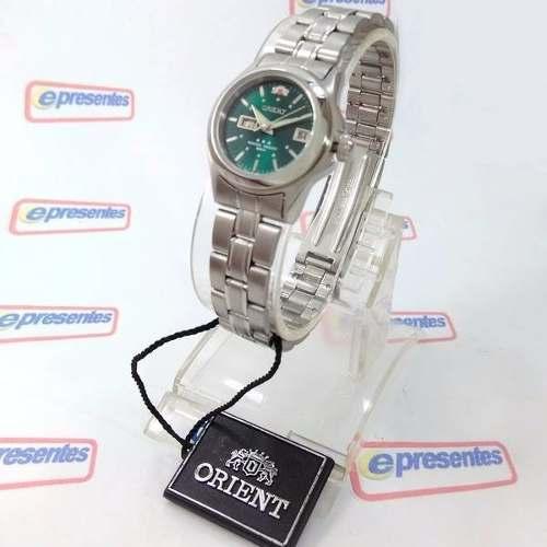 Relógio Orient Automático Feminino Verde Wr50 100% Autêntico  - E-Presentes
