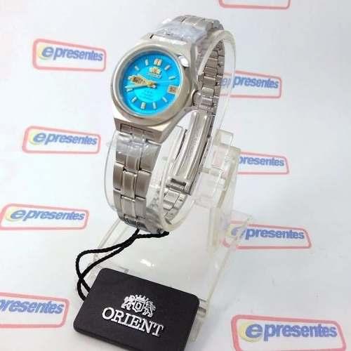 Relógio Orient Automatico Feminino Mini 25mm FNQ1A002L9  - E-Presentes