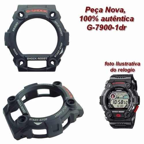 Capa Protetora Bezel Casio G-shock Preto G-7900 100%original  - Alexandre Venturini