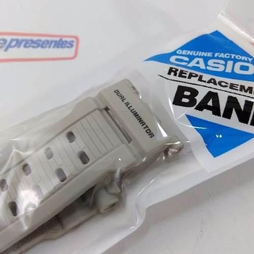 Pulseira Casio G-shock Mudman G-9000-8v Cinza Claro *  - E-Presentes