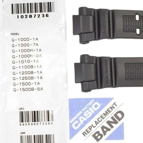 Pulseira Casio G-schok 100% Original G-1200 G-1250 Gw-2500  - Alexandre Venturini