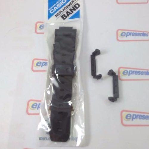Pulseira + Protetor Case Back Casio Dw-9051 Dw-9052 Original  - E-Presentes