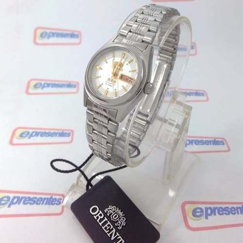 8de8274f7e3 Relógio Orient Automatico Feminino Mini Autêntico Fnq1x001w9 - E-Presentes