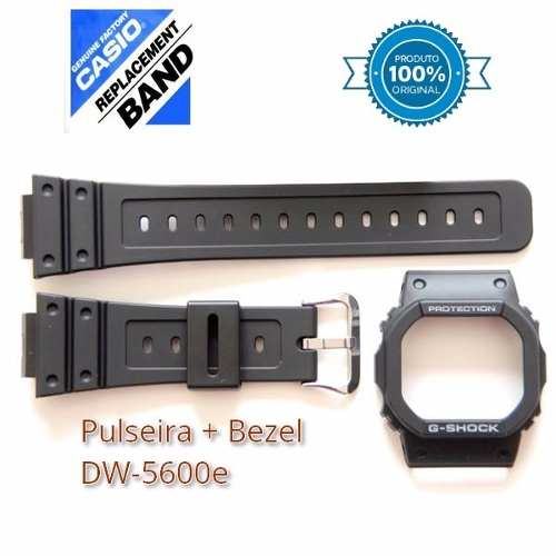 Pulseira + Bezel G-Shock Dw-5600e / GB-5600 - 100%original  - E-Presentes