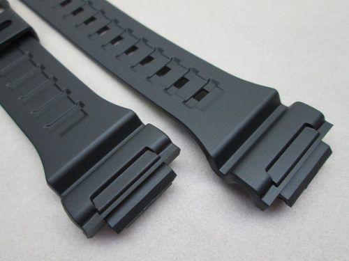 Pulseira Casio Preta 100% Original W-735 W-736 Aq-s810  - E-Presentes