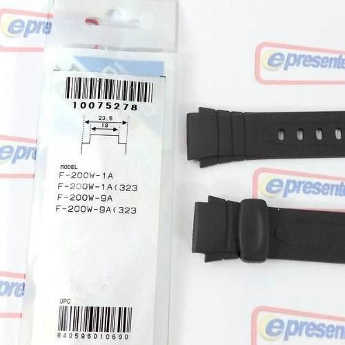 Pulseira Casio F-200w 100% Original - Revenda Autorizada  - E-Presentes