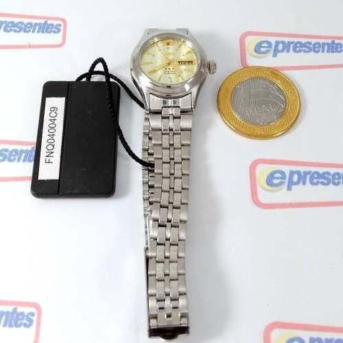 Relógio Feminino Orient Automatico Mini Prateado Fnq04004c9  - Alexandre Venturini
