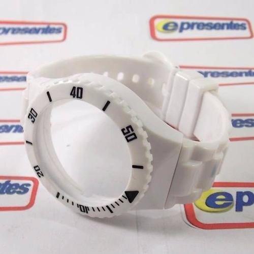 Pr30119b Pulseira Avulsa Original Champion Branco Brilhante  - E-Presentes
