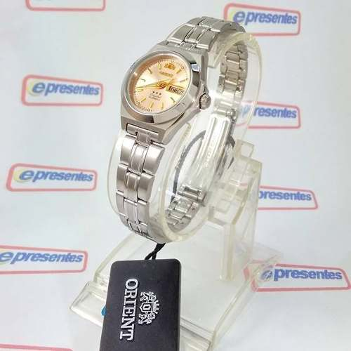 Relógio Feminino Orient Automático Pequeno Rosê Fnq1a00az9  - Alexandre Venturini