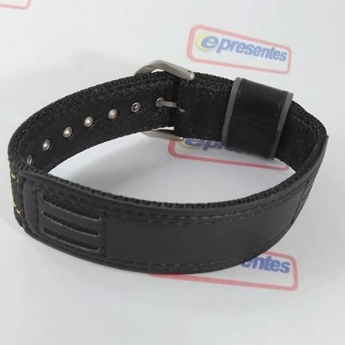 Pulseira Casio Protrek Nylon E Couro Prg-130gc 100% Original  - E-Presentes
