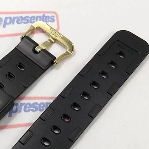 Pulseira G-shock Dw-5700c Dw-5200 Fivela Dourada Original  - E-Presentes