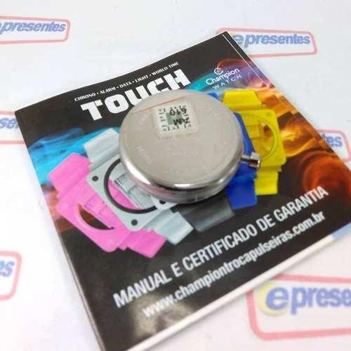 Mostrador Champion Touch Original Cp40171 Avulso Novo  - E-Presentes