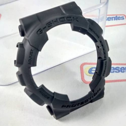 Bezel Casio G-shock Preto Fosco Ga-100c, GA-100bbn, Ga-120bb,  GD-101NS, GA-140BMC *  - E-Presentes
