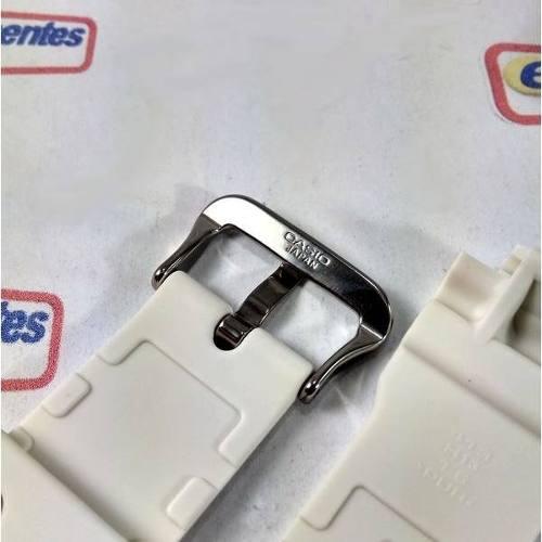 Pulseira Branca Casio G-shock Dw-5600 G-5600 Dw-6900 Gwm5600  - E-Presentes