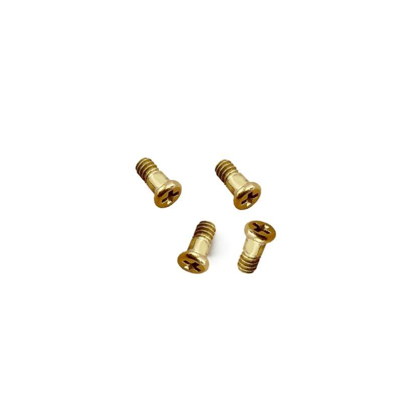 4 Parafusos Bezel Casio G-shock DW-5025B DW-5035 DW-5735E-7 DW-5035D DW-5735D DW-5030D   - E-Presentes