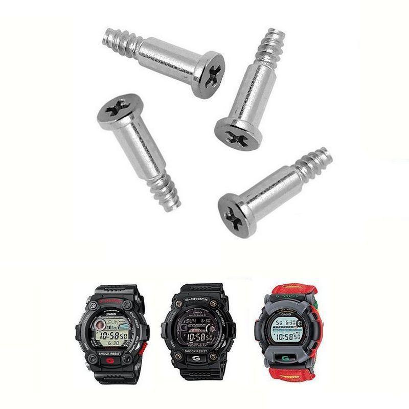4 Parafusos Bezel Casio G-shock G-7900, GW-7900, GR-7900, DW002, DW-0097, DW-8100, DW-8140, DW-8150, DW-8300, DW-8700, DW-9100  - E-Presentes