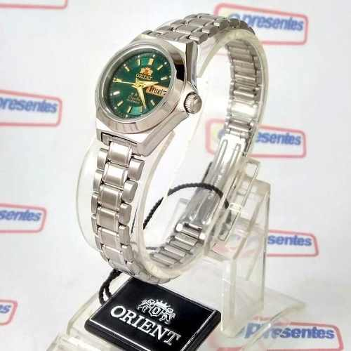 78cede5b4fd Relógio Orient Automatico Feminino Mini Verde Fnq18004f9 - E-Presentes ...