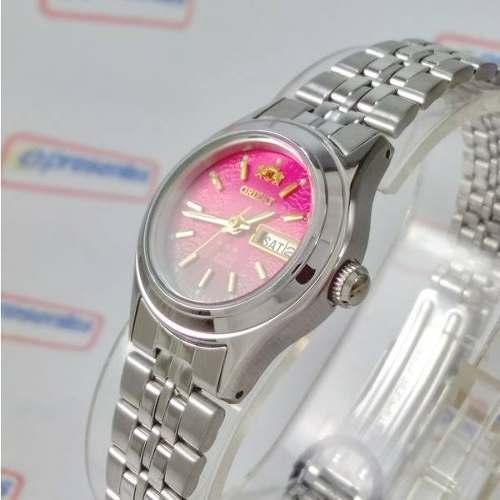 9fff6e149d758 Relógio Orient Automatico Feminino Mini Rosa Fnq04005h9 - E-Presentes