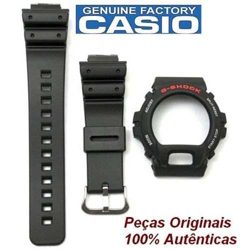 Pulseiras + Bezel Casio Gshock Dw-6900 Dw-6600 100% Original  - Alexandre Venturini