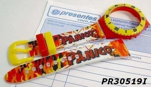 Pulseira Champion Estampada Pânico Pr30519l Avulsa Original  - E-Presentes