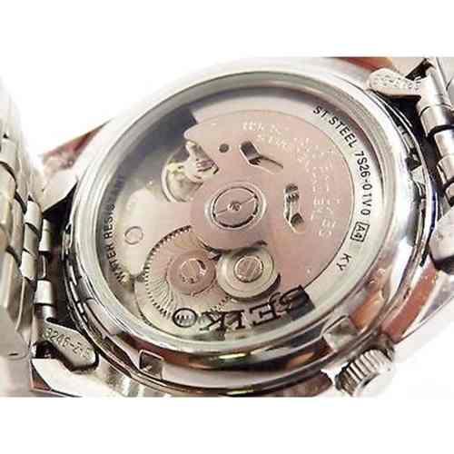 Relógio Automatico Seiko Snkk93k1 100%original 1ano Garantia  - E-Presentes