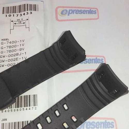 Pulseira Casio G-shock G-7600 G-7400 Gw-002 100% Original  - Alexandre Venturini
