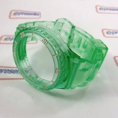 Pulseira Champion Verde Translucida Avulsa Pr30919d Original  - E-Presentes