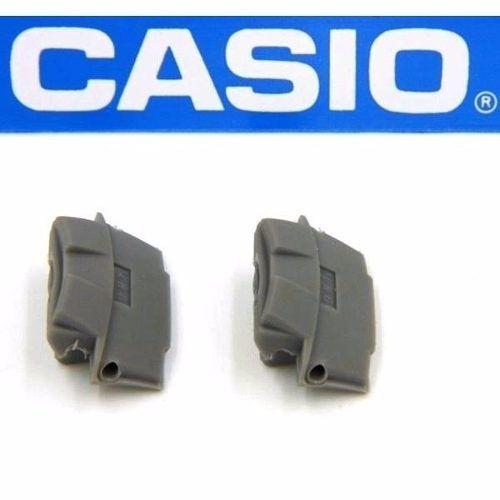 Par Terminais Adaptador Pulseira Casio Metal Aq-160 Original  - E-Presentes