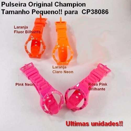 Pulseiras Original Champion Tamanho Pequeno! Varias Cores.  - E-Presentes