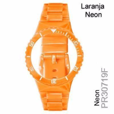 Pulseira Original Champion Laranja Claro Neon Pr30719f  - E-Presentes