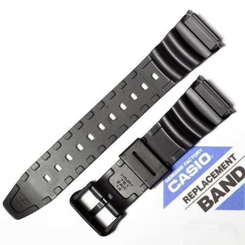 Pulseira Casio Sgw-100 Sgw-100h Resina Preta *  - E-Presentes