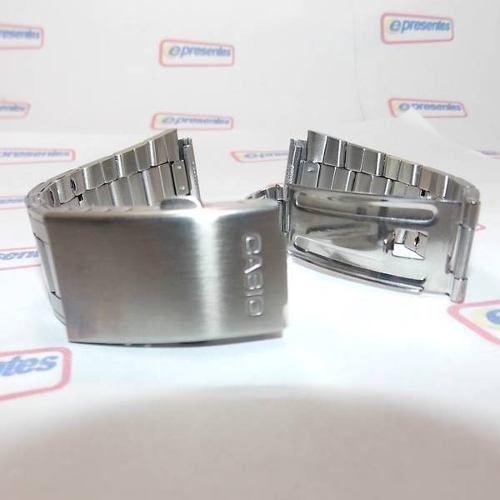 Pulseira Casio AW-80D Aço Inox (24/18mm) - 100% original   - E-Presentes