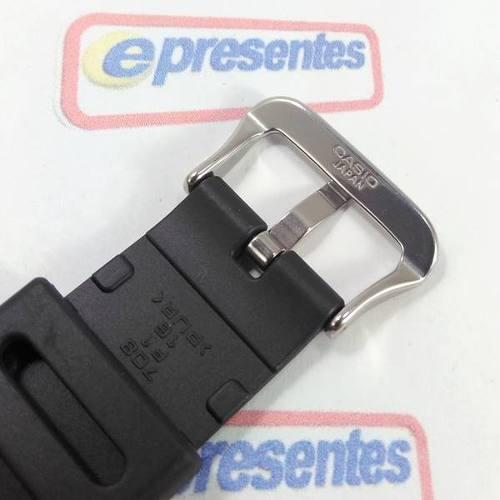 Pulseira Casio 100% Original - Resina Preta G-shock Aw-582  - E-Presentes