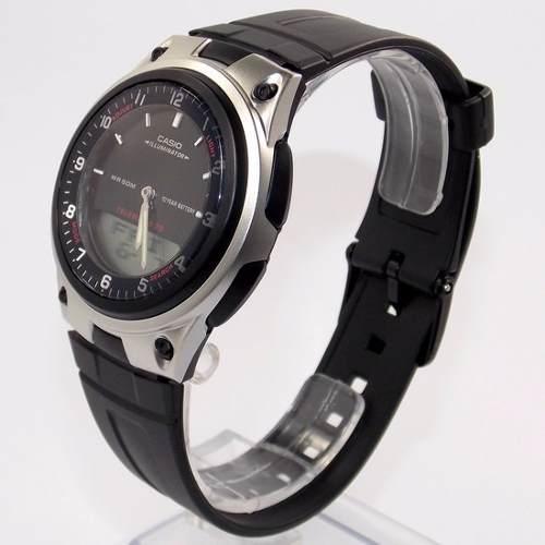Aw-80 1av Relógio Casio Analógico Digital Agenda Telefonica  - E-Presentes