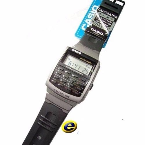 CA-56-1DF Relogio de Pulso Casio Databank Calculadora Retrô  - E-Presentes