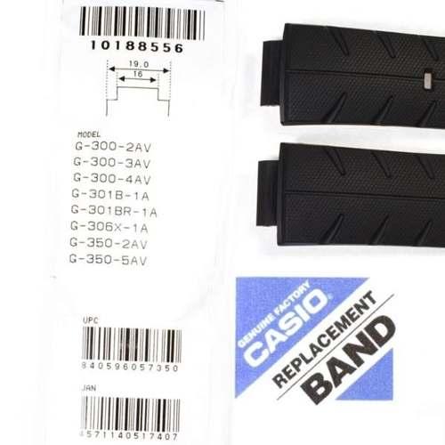 Pulseira Casio G-schock 100% Original G-300 G-301 G-350 G306  - Alexandre Venturini