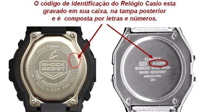 72075251 Parafusos Tampa Traseira de inox para Casio G-Shock (Varios modelos)  - E-Presentes